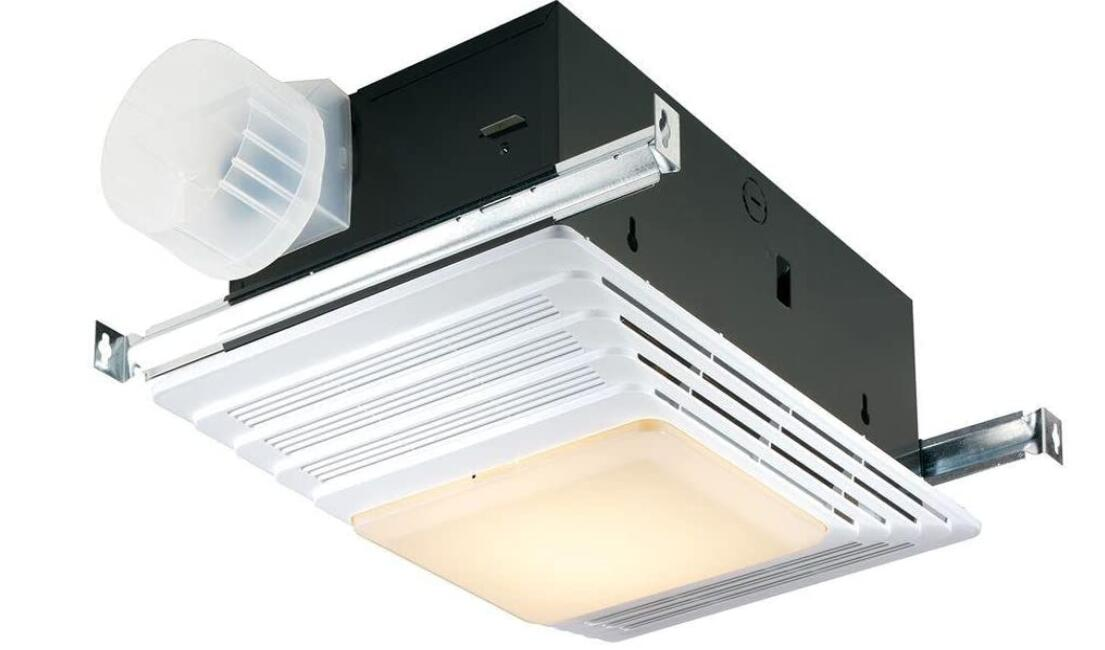 best bathroom ceiling fan with light and heater