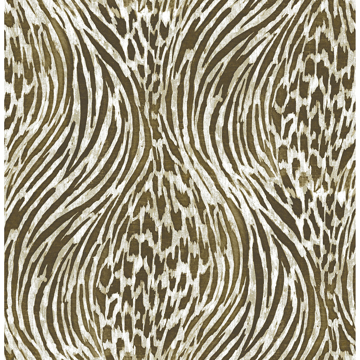 Picture of Brown & Gold Fierce Peel and Stick Wallpaper