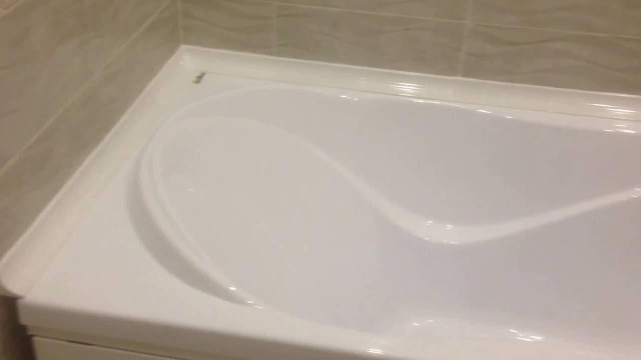 пример использования герметизации в ванной в ремонте квартиры