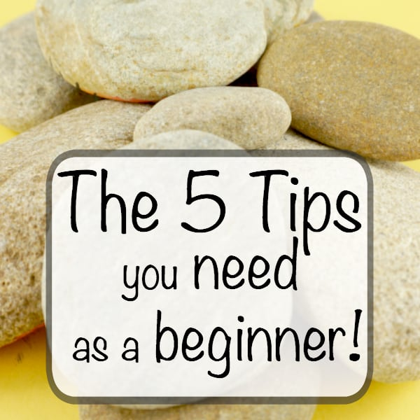 Learn how to paint rocks with the answers to the top 5 most asked questions by rock painting beginners. From where I buy rocks to what I use to finish them.