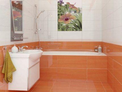 Минимальный стык у ванны со стеной