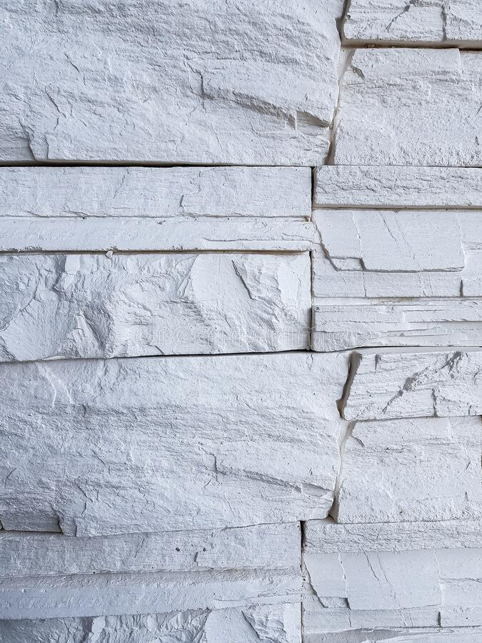 Artificial stone, masonry, brick. background texture royalty free stock images