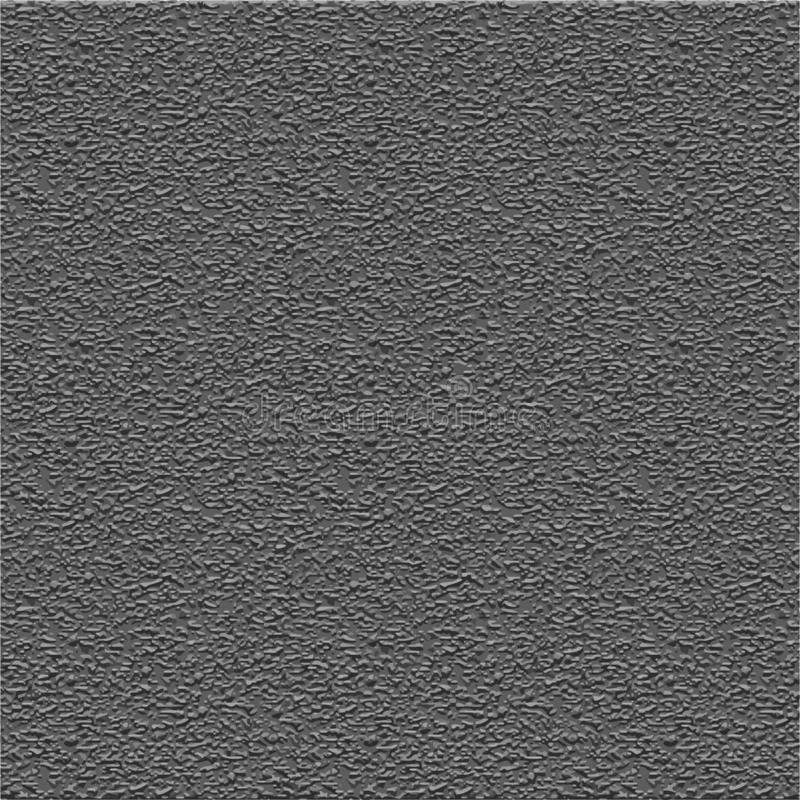Background gray texture stone concrete wall, vector texture of gray plaster, rough grunge surface stock illustration