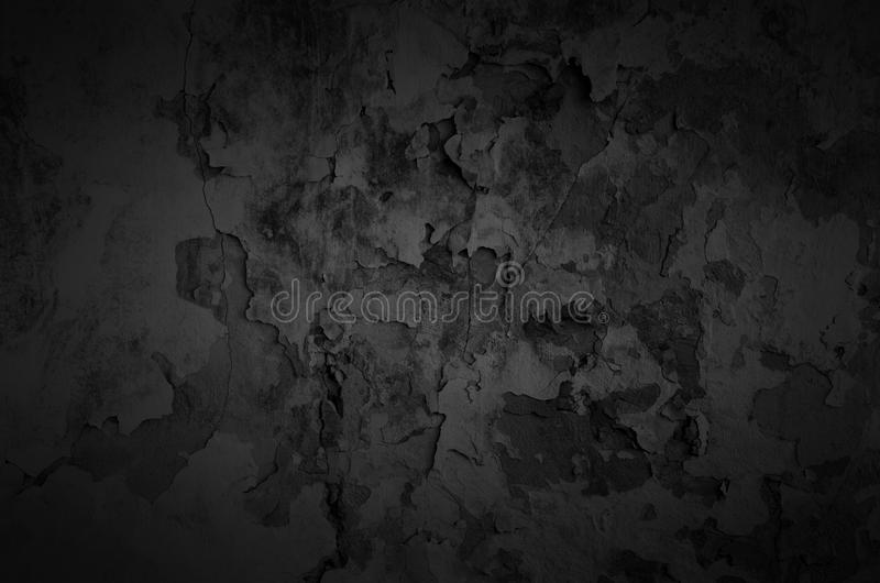 Black shady wall. Black shady wall texture background stock images