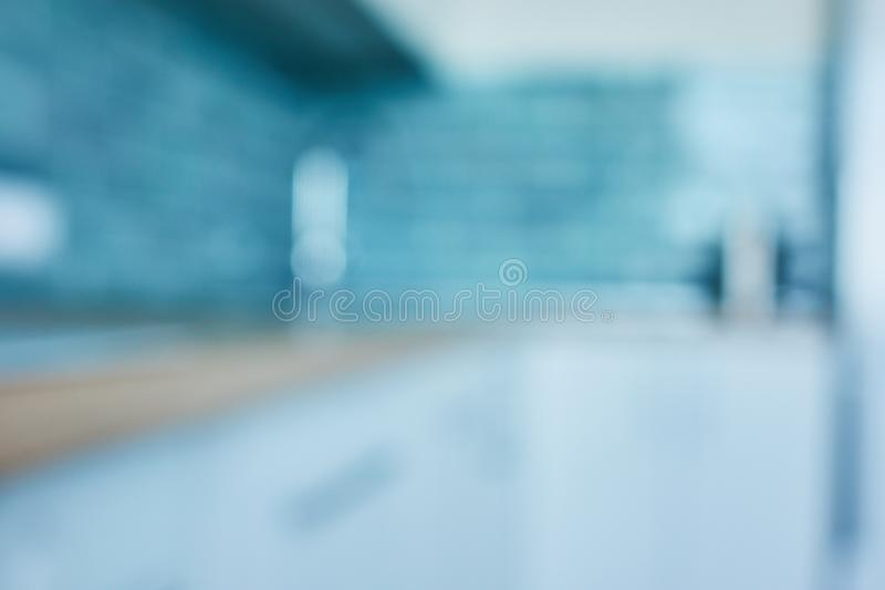 Blur Kitchen Room Interior background royalty free stock photography
