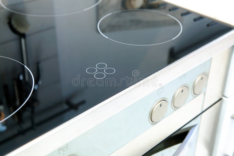 Ceramic Stove Top stock images