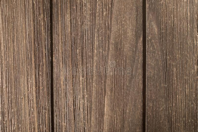Macro of Vintage dry wood background. Close up of vintage Dry Wood Background Texture. Natural brown barn wood floor / wall texture background pattern. Wood royalty free stock photo