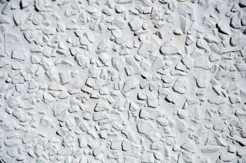 Concrete wall background in daylight stock photo
