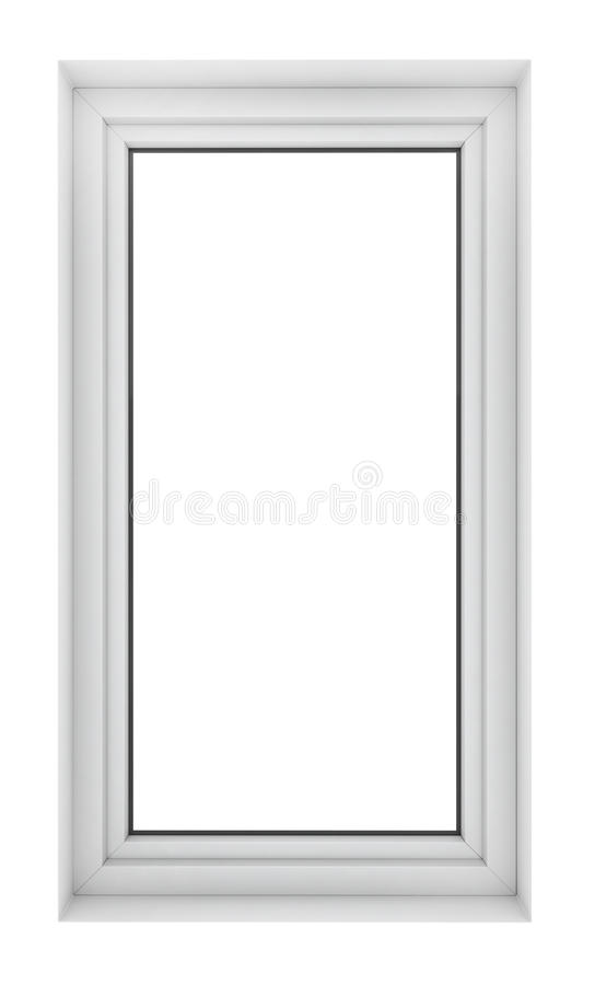Plastic window frame stock photos