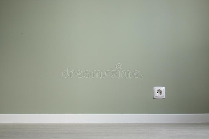 Empty wall and floor background stock images