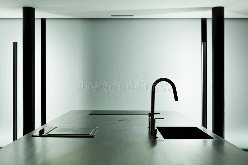 Interior, modern design stock image