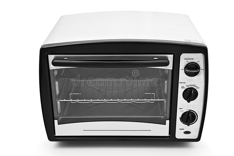 Kitchen oven isolated. On white background stock image