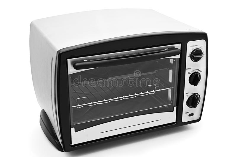 Kitchen oven isolated. On white background royalty free stock image