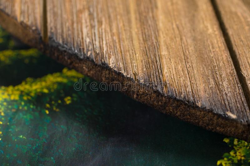 Macro of Vintage dry wood for background. Close up of vintage Dry Wood Background Texture. Natural brown barn wood floor / wall texture background pattern. Wood royalty free stock photo