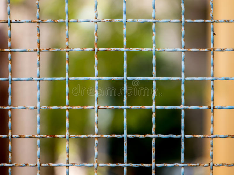 Mesh netting. On the blur bokeh background royalty free stock photos