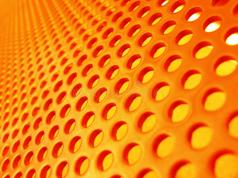 Metal mesh. Abstract red-hot metal mesh royalty free stock photo
