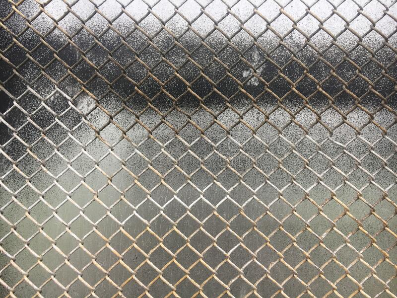 Old metal mesh netting. Mesh texture.  stock images