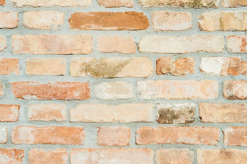 Modern red brick wall texture pattern background. stock photography