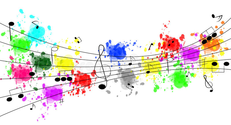 Music Notes royalty free illustration