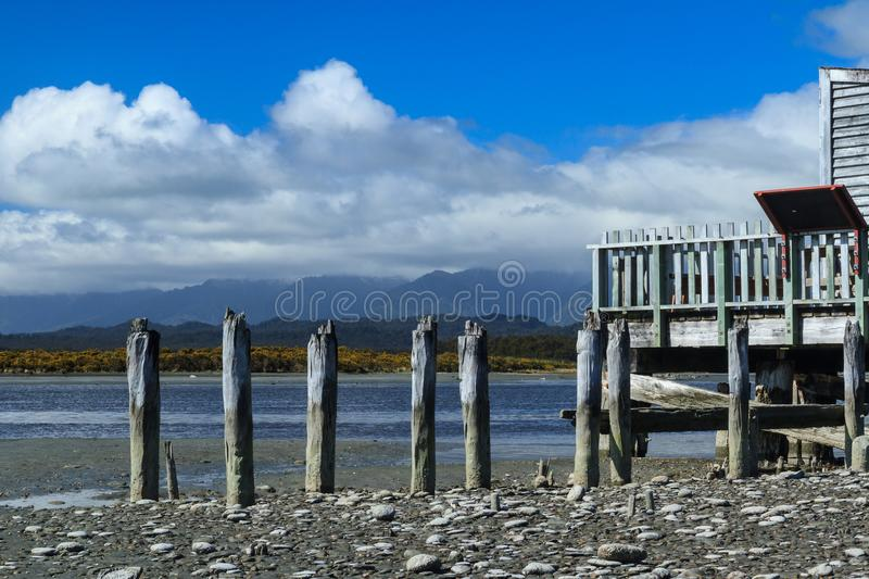 Okarito Lagoon, West Coast, New Zealand. Located on the sparsely populated but stunning West Coast of the South Island, Okarito lagoon is New Zealand`s largest stock photography