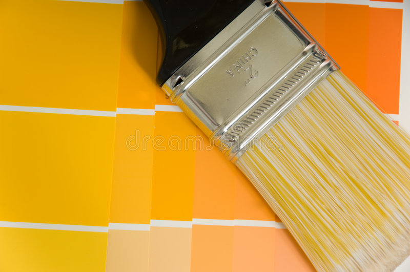 Paint Supplies stock photography