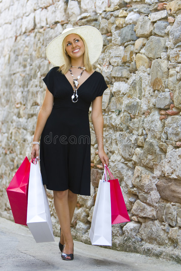 Shopping With Style stock images