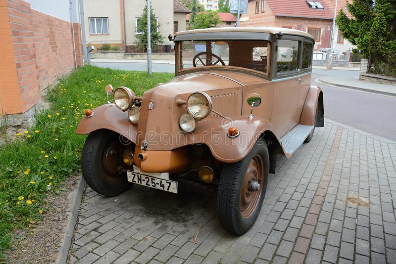 The Tatra 12 is a model of vintage automobile made by Czech manufacturer Tatra. It was manufactured between 1923 and 1926. It was replaced by the Tatra 57 in stock images