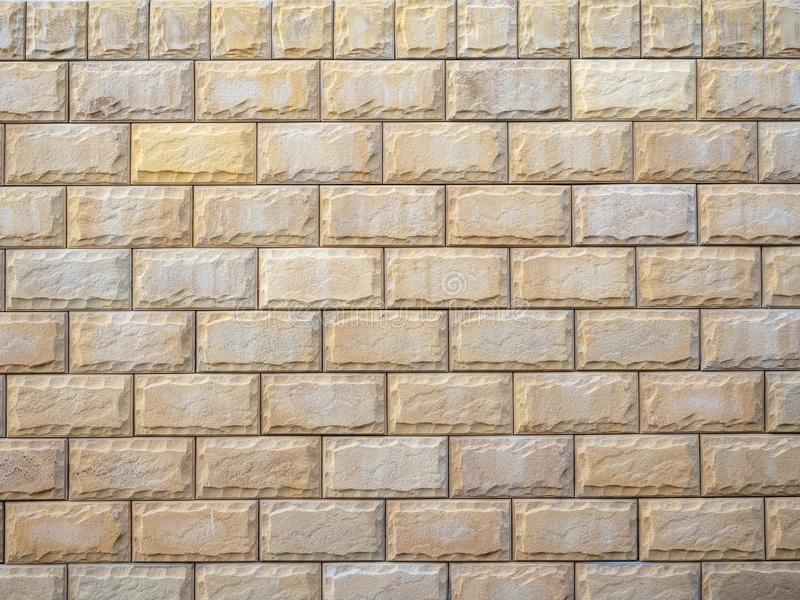 Beautiful texture of decorative stone for finishing facades of houses and fences. Texture of decorative stone for finishing facades of houses and fences royalty free stock images