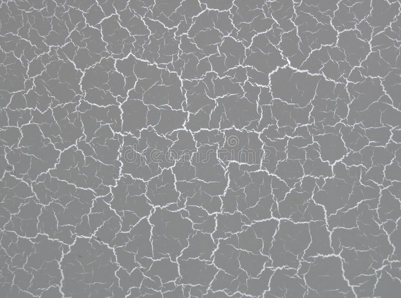 Texture of the plaster craquelure, Venetian stucco, crackle, glitter, silver. Texture of plaster black and white, blue, clay , cracks on the wall Venetian stucco royalty free illustration