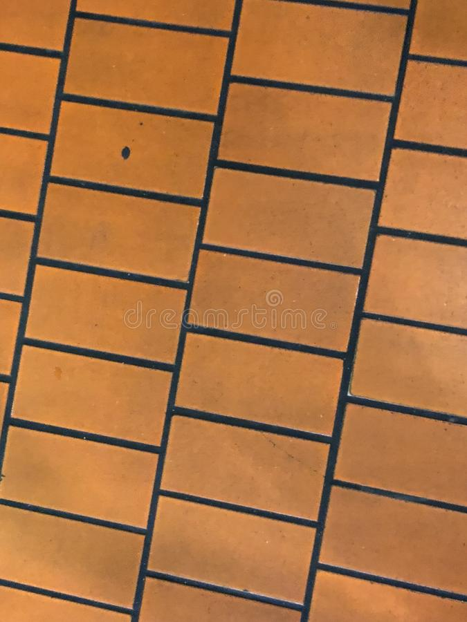 Tile. Cool colored tile design with black grout royalty free stock photo