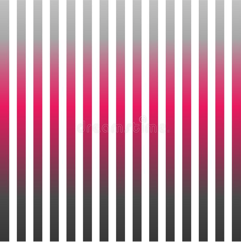 Vertical pinstripes in warm color stock illustration