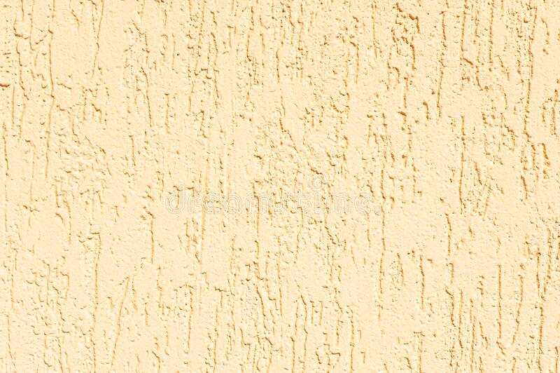 Wall of plaster bark beetle texture. Background royalty free stock photo