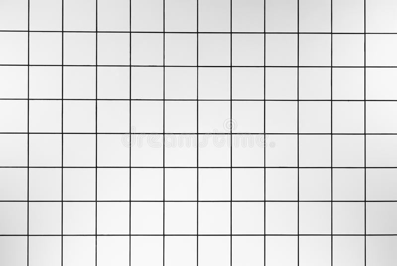 White tiles. Ceramic tiled floor in the living room stock images